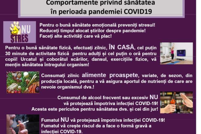 Informatii utile Covid 19